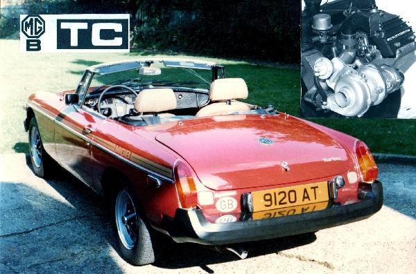 MGB TC - TURBOCHARGED CLASSIC
