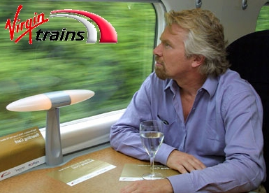 SIR RICHARD BRANSON - Virgin Trains
