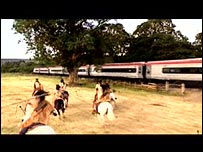 "VIRGIN TRAINS - ""Apache Indian Attack"""