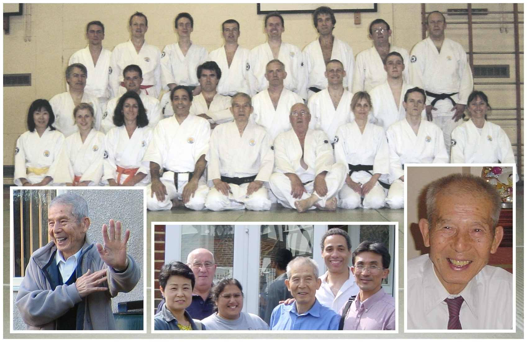 SENTA YAMADA SENSEI - WITH HIS FRIENDS